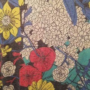 LuLaRoe Classic T floral print XL